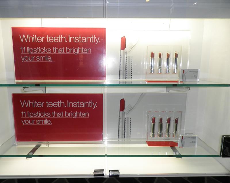 Clinique-Lipstick-Display