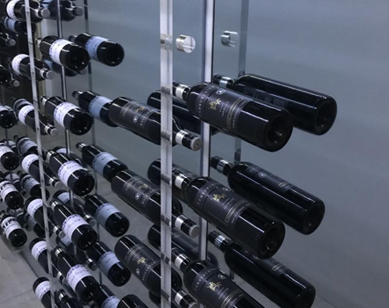 APF Acrylic Wine Display Rack