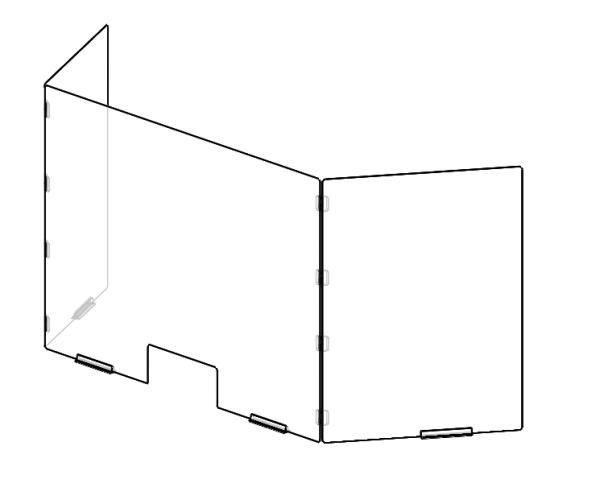 Sneeze-Guard-Flexi-Screen-Angled
