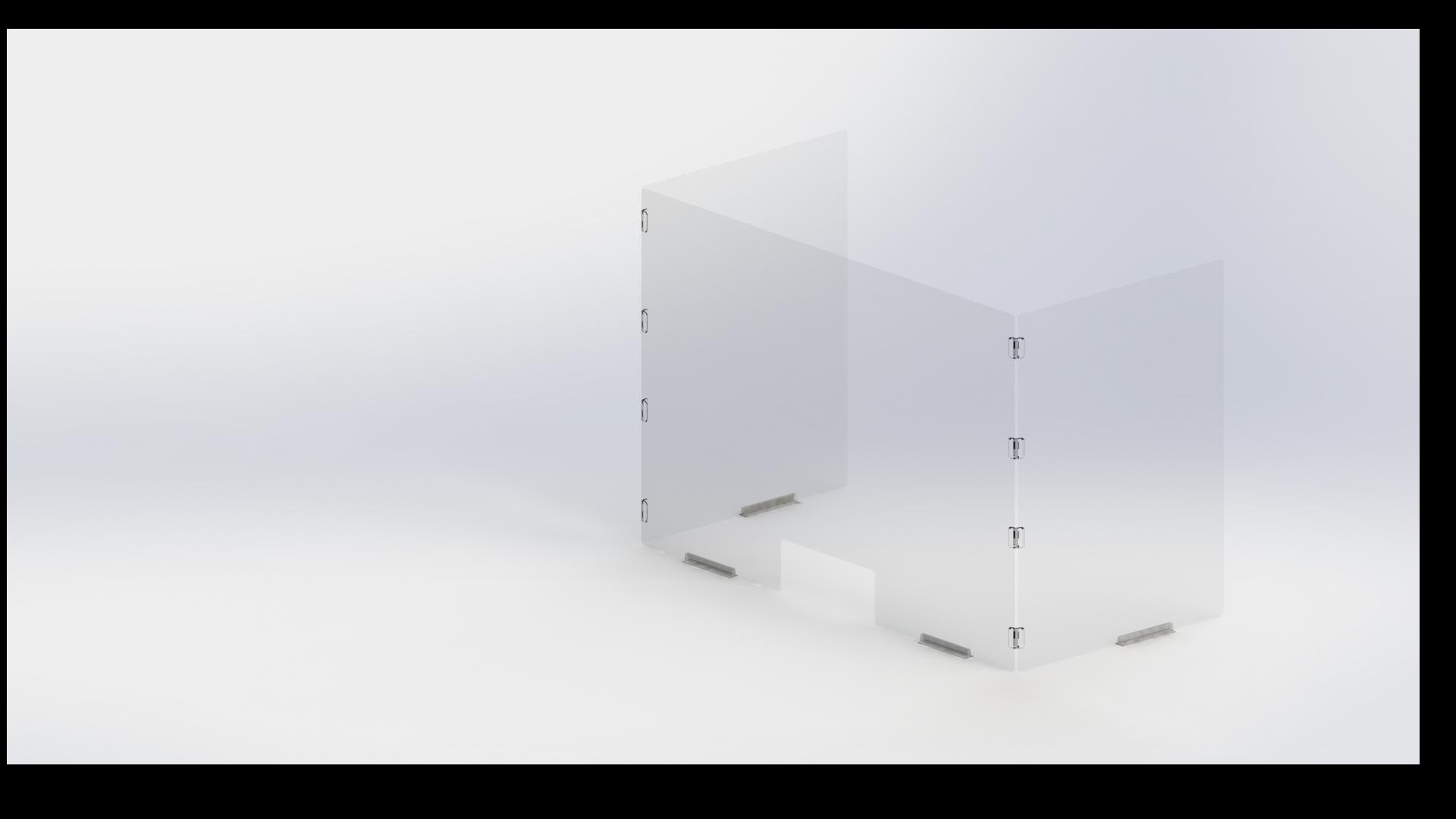 Sneeze-Guard-Flexi-Screen-U